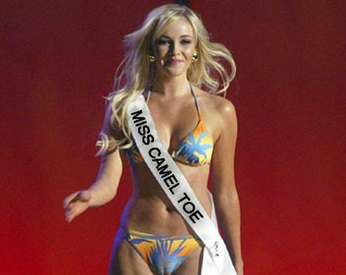 pageant bikini camel toe