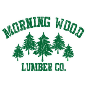 funny sex picture morning wood lumber company