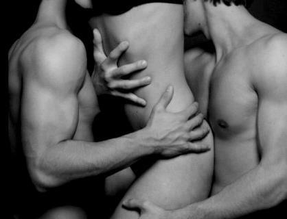 threesome with two guys